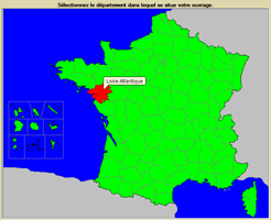 CYPECAD MEP. Carte de France